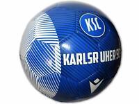 Macron Karlsruher SC Fußball blau KSC Fan Ball Karlsruhe Trainingsball Gr.5