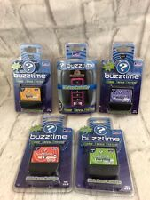 Cadaco Buzztime Pink Wireless Controller Plus 4 Trivia Game Cartridges New Gift