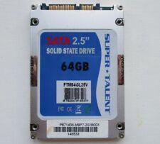 """Super Talent 2.5"""" 64GB SSD Solid State Drive FTM64GL25V"""