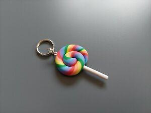 Colourful Lollipop charm
