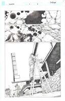 Bloodshot Reborn #1 page 8 Mico Suayan Original Art Valiant Comics 2015