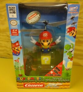 Nintendo Super Mario Flying Cape Mario Remote Control Helicopter Carrera  NEW