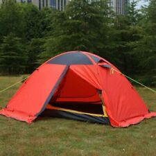 2 Person Ultralight Double Layer Camping Tent Backpacking Outdoor Mesh Shelter