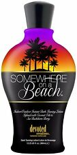 Devoted Creations SOMEWHERE ON A BEACH Dark Tanning Lotion - Same Day Dispatch