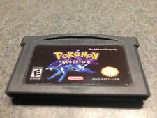POKEMON LIQUID CRYSTAL GBA Gameboy Advance DS Comes with Protective Case