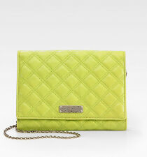 NWT $795 Marc Jacobs Woman's Acid Green Baroque All In One Shoulder Leather Bag