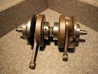 Honda SL350 Crankshaft Crank for parts or rebuild