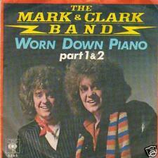 JUKEBOX SINGLE 45 MARK & CLARK BAND WORN DOWN PIANO 1+2