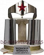DC DIRECT JLA TROPHY ROOM: WONDER WOMAN LASSO & BRACELETS PROP Replica Statue