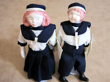 Marineros 1908 Collectible Ceramic Dolls hand made in Columbia South America
