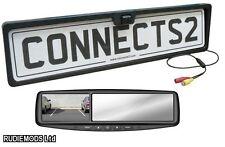 Connects2 Posteriore Numero Targa REVERSE FOTOCAMERA e vista Posteriore Specchio MONITOR