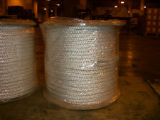"""1/2"""" x 300' Double Braid cable pulling rope w/ 6"""" eyes on each end"""