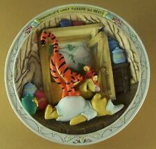 Winnie the Pooh and Friends BOUNCING'S WHAT TIGGERS DO BEST Plate + COA