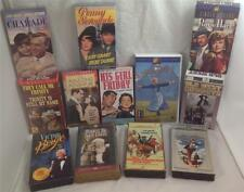 VHS Classic Movies (13 Tapes) Cary Grant, Fred Astaire, Ginger Rogers