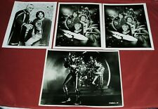 Abc Tv Show Battlestar Galactica Promo 7X9 Photo Lorne Green Lot Of 4 Photos