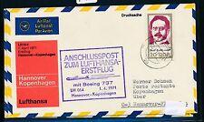 95482) LH FF Hannover - Kopenhagen 1.4.71, SoU ab DDR EF Liebknecht