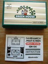 Game & Watch Nintendo Green House
