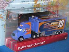 DISNEY PIXAR CARS 3 BOBBY SWIFT'S HAULER 19 OCTANE GAIN TURBO VITAMINS BRAND NEW