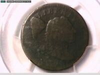 1795 Large Cent PCGS Genuine Env. Damage  P/FR Details Plain Edge 28359551 Video