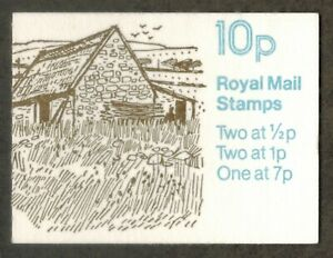 GB 1978 Farm Buildings Northern Ireland Stamp Booklet Missing Phos. MNH