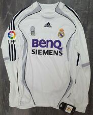 Real Madrid 2006/07 FORMOTION Home Long Sleeve Shirt - BNWT - Ronaldo 9 (RARE)