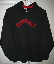 Air Jordan Hoodie Youth Large (16-18) Black