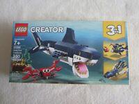 LEGO #31088:  2019 Deep Sea Creatures NIP