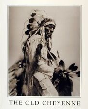 The Old Cheyenne Indian Native American Wall Decor Art Print Poster (16x20)