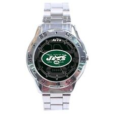 New York Jets NFL Stainless Steel Analogue Men's Watch Gift