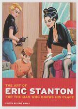 Taschen ART OF ERIC STANTON 1997 Postcard Mistress Dominates Bellboy Fetish Book