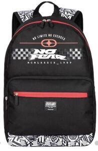 No Fear MX Skate Black Backpack - RRP £24.99 BNWT