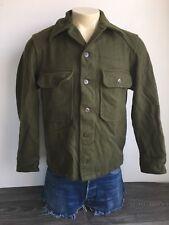 50's OG-108 Field Shirt Wool US Korean War Era Jacket Coat Men M/L EUC!