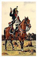 1er EMPIRE.NAPOLéON.ARMéE FRANçAISE.1809.DRAGON EN VEDETTE.