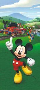 Children's bedroom wall mural wallpaper Disney 202x90cm Mickey Mouse wall decor