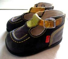 15a39461b4b1e Sandales quadricolores KICKERS Taille 18 - Très bon état