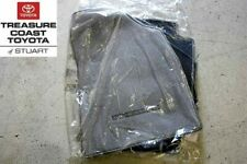 NEW TOYOTA HIGHLANDER GRAY 3-PC FLOOR MATS AND CLIPS