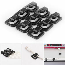 18 pcs Adhesive Cable Cord Wire Line Organizer Clips Data Lines  Clamp Fixer