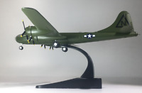 New 1/144 Green WWII USAF B-29 Superfortress Bomber Aircraft 3D Alloy Model