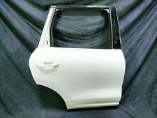 13 Porsche Cayenne Rear Right Passenger Side Exterior Door Shell White 7P0833312