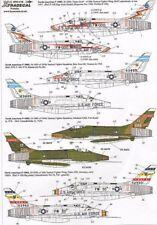 Xtradecal 1/72 F-100D Super Sabre/F-100F Super Sabre # 72116