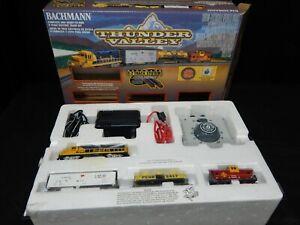 BACHMANN THUNDER VALLEY N SCALE ELECTRIC TRAIN SET BACHMANN TRAINS