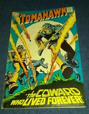 Tomahawk #120 Frank Thorne Silver Age western DC Comics VG golden screen classic