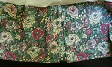 Eileen West Designed for Martex Snapdragon Floral Queen Size Bed Skirt