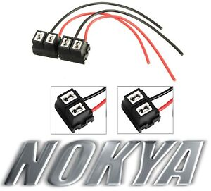 Nokya Wire Harness Pigtail Female H7 Nok9106 Head Light Bulb Low Beam Plug Lamp