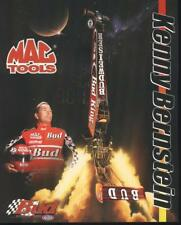 2000 Kenny Bernstein Budweiser Top Fuel NHRA postcard
