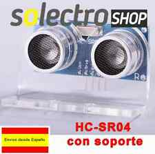 HC-SR04 + SOPORTE Sensor Ultrasonidos Arduino Módulo Medidor de Distancia S0006