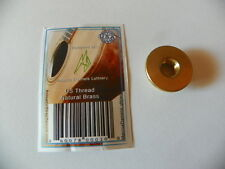 Acoustic Strap Secure Brass US Thread Keep your strap secure AC/EL Guitars