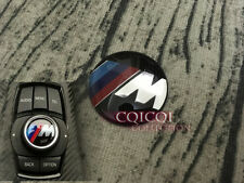 M logo i drive controller knob sticker emblem badge for BMW F30 F31 3-series ◎