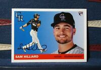 2020 Topps Archives #40 Sam Hilliard RC 1955 Topps Rookie Colorado Rockies