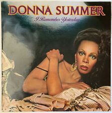 DONNA SUMMER I REMEMBER YESTERDAY LP CASABLANCA PRICE 3 UK 80'S REISSUE